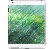 Earth Tones in Oil Pastel iPad Case/Skin