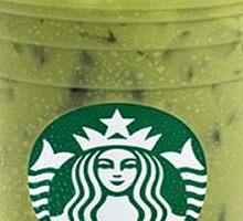 Starbucks Iced Green Tea Latte Sticker
