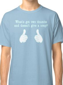 What's got two thumbs? Classic T-Shirt