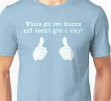 What's got two thumbs? Unisex T-Shirt