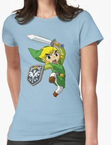 zelda Womens Fitted T-Shirt