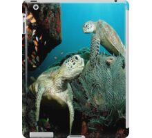 Turtle in the Ocean iPad Case/Skin