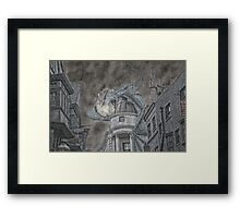 Hungarian Horntail Framed Print