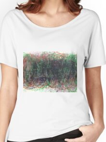 The Monster Under The Bed in Oil Pastels Women's Relaxed Fit T-Shirt