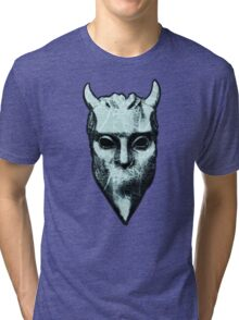NAMELESS GHOUL - marble oil paint Tri-blend T-Shirt