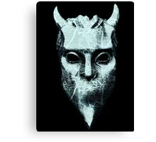 NAMELESS GHOUL - marble oil paint Canvas Print