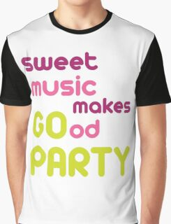 party,music Graphic T-Shirt