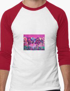 Flower garden for a girl Men's Baseball ¾ T-Shirt