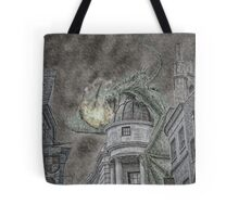 Hungarian Horntail in Green Tote Bag