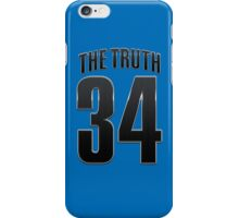 The Truth 34 Basketball Legend iPhone Case/Skin