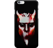 NAMELESS GHOUL - hot lava oil paint iPhone Case/Skin