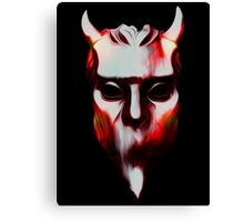 NAMELESS GHOUL - hot lava oil paint Canvas Print