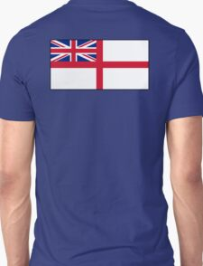 White Ensign, Flag, Royal Navy Ships, St George's Cross, St George's Ensign, Navy, Blue Unisex T-Shirt