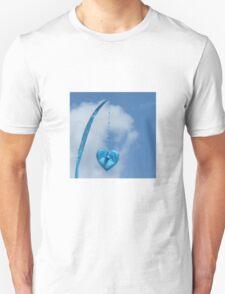 Blue Blue Heart Unisex T-Shirt