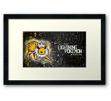 The Lightning Pokémon Framed Print