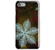 Macro Snowflake iPhone Case/Skin