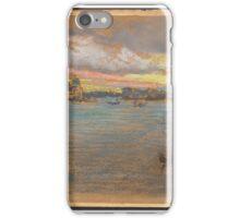 James Abbott McNeill Whistler, The Storm-- Sunset iPhone Case/Skin