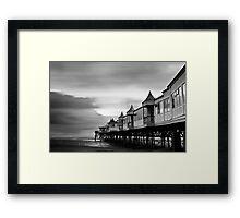 St Annes Pier 2 Framed Print