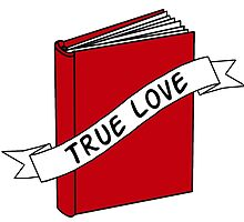True Love is a Good Book by MelMunro