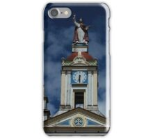 Bell Tower on a Cotacachi Church iPhone Case/Skin