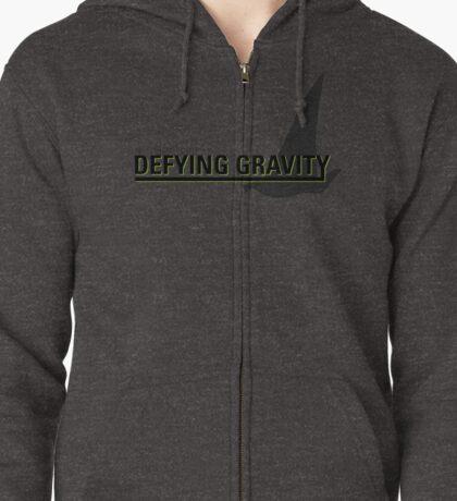Defying Gravity Zipped Hoodie