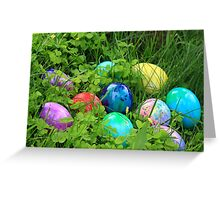 Easter Eggs Card and gifts Greeting Card