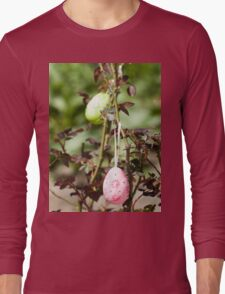 Decorated easter eggs Long Sleeve T-Shirt