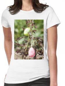 Decorated easter eggs Womens Fitted T-Shirt