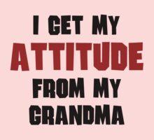 I Get My Attitude From My Grandma Baby Tee