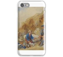 James Hardy Jr.  WAITING FOR LUNCH iPhone Case/Skin