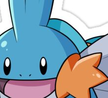 Mudkip and Siblings Sticker