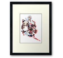 Abstract He-Man Framed Print