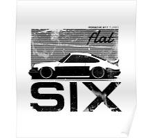 Flat Six Poster