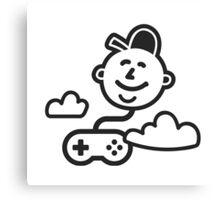 Happy Gaming Canvas Print