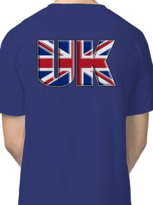 UK, United Kingdom, Flag, Union Jack, British, Blighty, NAVY Classic T-Shirt
