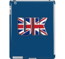 UK, United Kingdom, Flag, Union Jack, British, Blighty, NAVY iPad Case/Skin