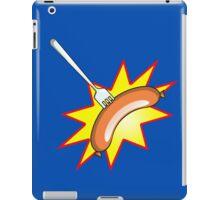Flying sausage - Grange Hill pop art stylee iPad Case/Skin