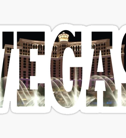 Vegas (Bellagio) Sticker