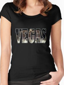 Vegas (Bellagio) Women's Fitted Scoop T-Shirt