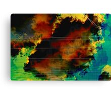 Cagey Drifter Canvas Print