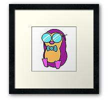 Cool Penguin Framed Print