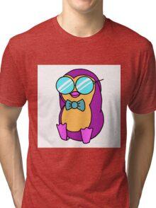 Cool Penguin Tri-blend T-Shirt