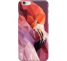 Low Poly Flamingo iPhone Case/Skin