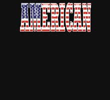 AMERICAN PATRIOT, AMERICA, Patriotic Type, Patriot Type, ON BLACK Unisex T-Shirt