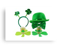 St. Patric's Day Cards and Gifts Canvas Print