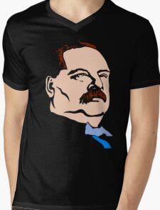 STEPHEN GROVER CLEVELAND Mens V-Neck T-Shirt