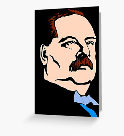 STEPHEN GROVER CLEVELAND Greeting Card