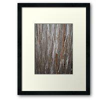 Raw Wood Framed Print