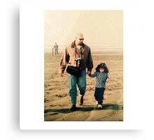 Father Daughter Canvas Print
