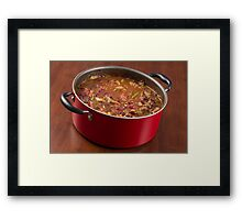 Chili Con Carne Framed Print